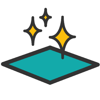 Icone aspect de surface