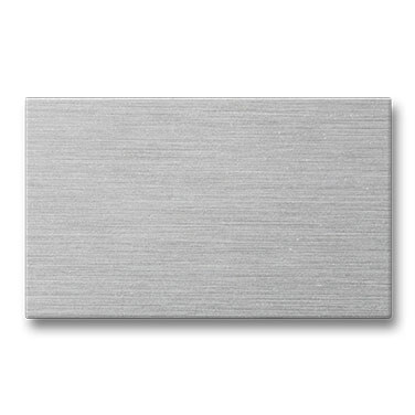 Plaques en aluminium
